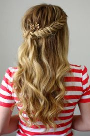 ideas curly prom