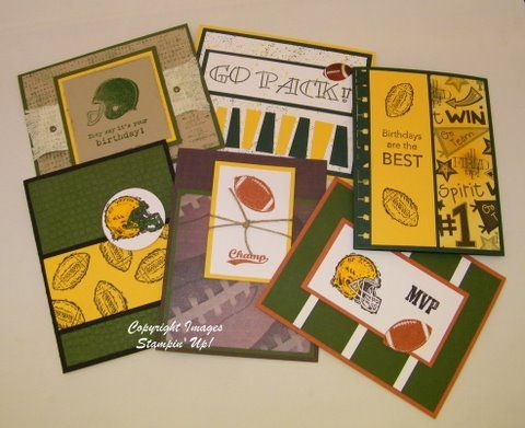 Green Bay Packer Cards KA By Technique Freak Cards And