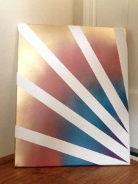 25+ best ideas about Spray paint canvas on Pinterest