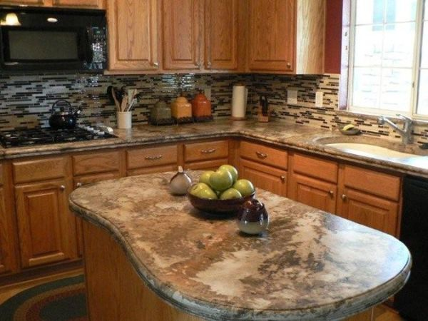 concrete kitchen countertops island 15 best images about Foley's Department Store Memories on