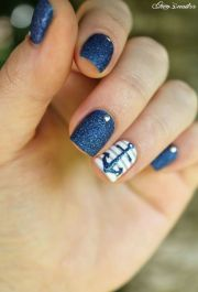 ideas nautical nails