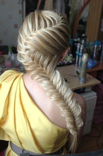 25 Best Ideas About Fishtail Braid Hairstyles On Pinterest