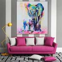 25+ trending Elephant Canvas ideas on Pinterest