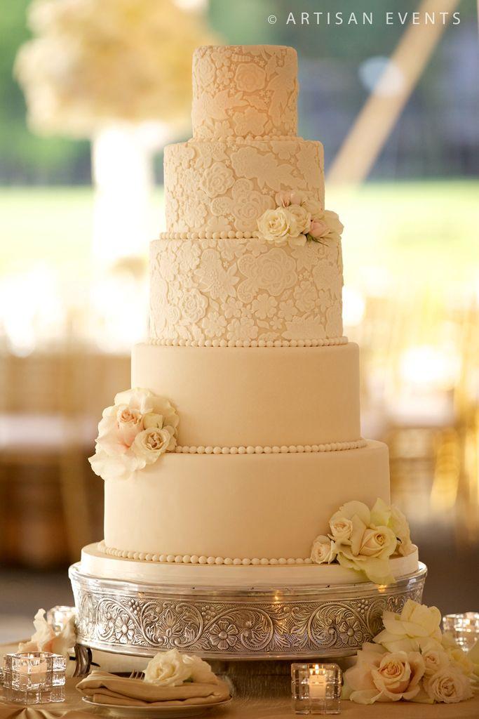 17 Best Ideas About 5 Tier Wedding Cakes On Pinterest
