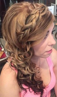 1000+ ideas about Side Curly Hairstyles on Pinterest ...