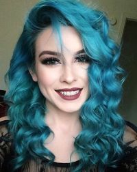 25+ best ideas about Turquoise Hair on Pinterest