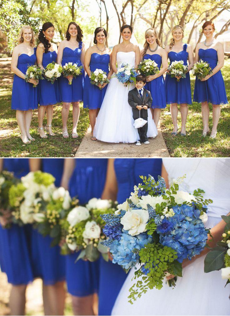 Best 25 Royal blue bridesmaids ideas on Pinterest  Royal blue weddings Royal blue bouquet and