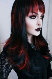 ideas gothic hairstyles