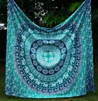 17 Best ideas about Teal Tapestry on Pinterest