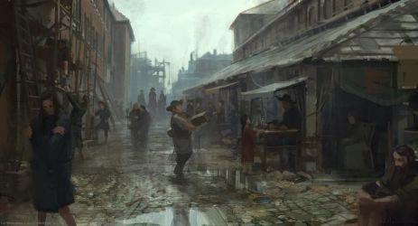 concept slums les miserables medieval fantasy inn karlsimon slum running town night poor dark building cities 5e google london environment