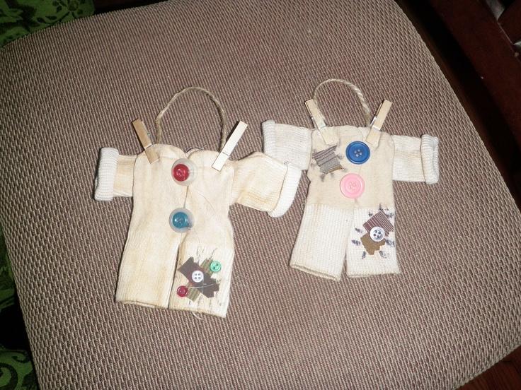 Baby Sock Longjohn Ornament Crafts Pinterest Babies