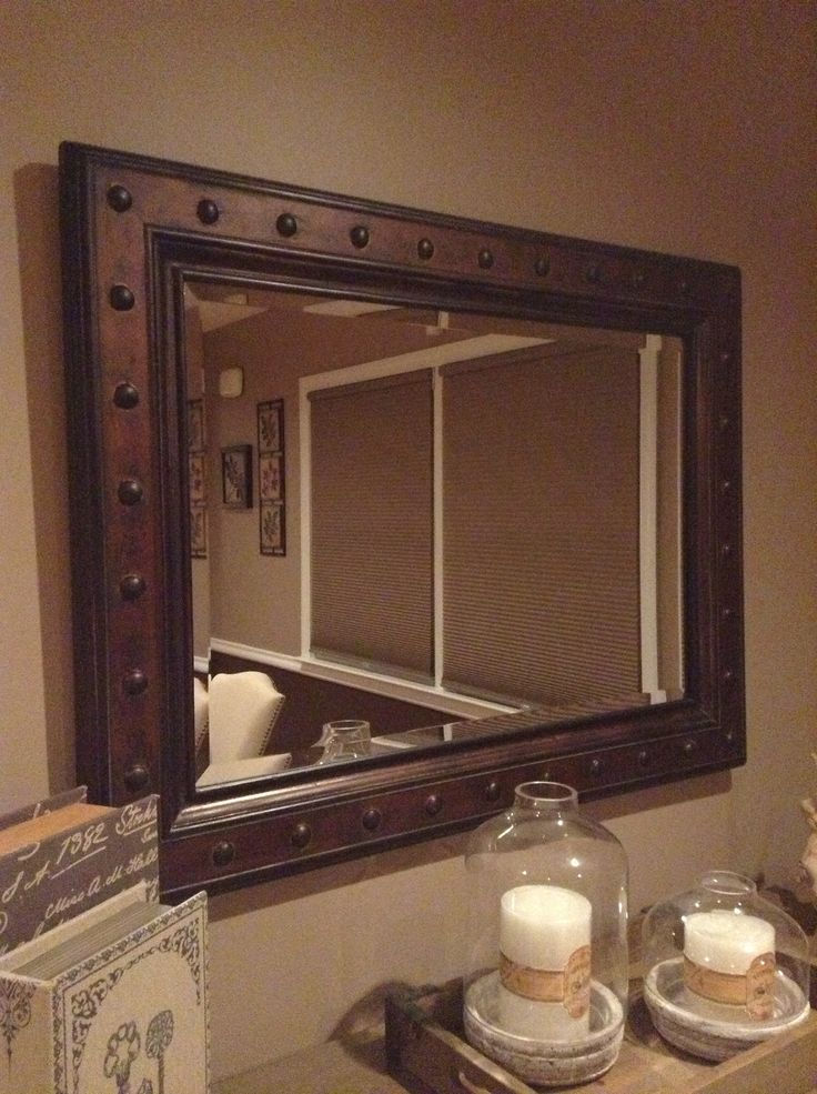 Rustic mirror Visit Centophobecom for more decrating ideas  Decorations House Hole Stuff