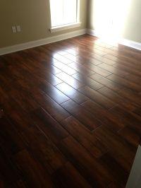 Wedge Job - Nobile Siena 8x24 Wood Look Ceramic Tile ...