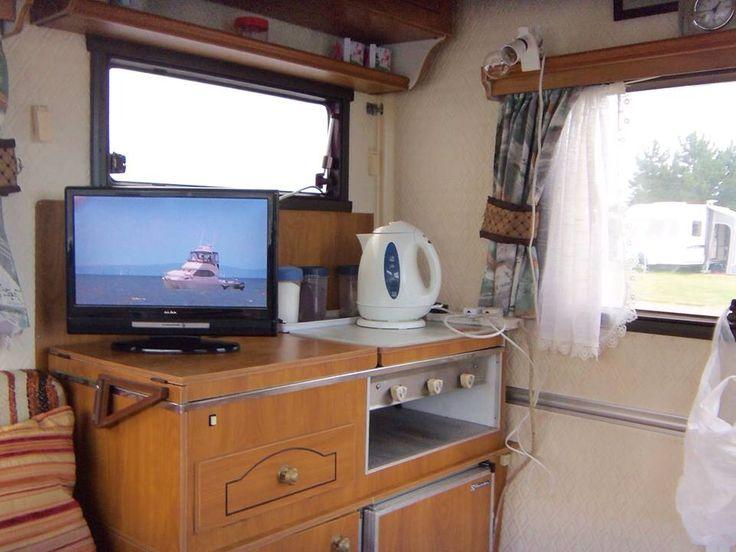 Casita Folding Caravan Interior
