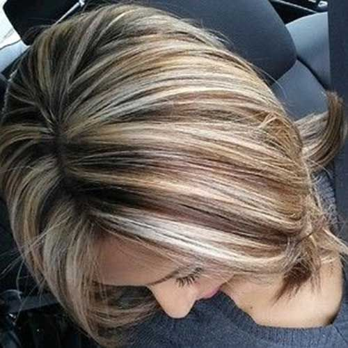 25 Best Ideas About Highlighted Bob On Pinterest Blonde