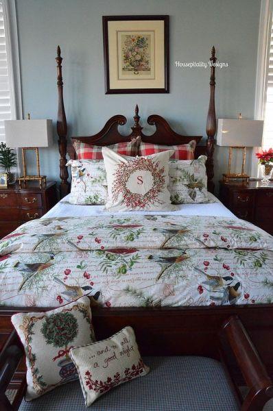 master bedroom decorating ideas christmas 17 Best ideas about Christmas Bedroom on Pinterest