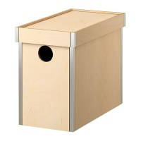 PRNT Box with lid IKEA - attractive storage for ugly file ...