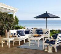 25+ best ideas about White Patio Furniture on Pinterest