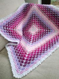17 Best ideas about Crochet Shell Blanket on Pinterest ...