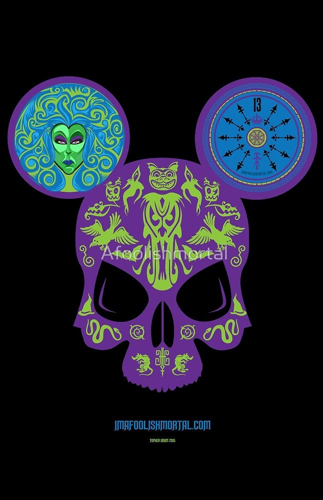 Iphone X Style Wallpaper For Iphone 6 Haunted Mansion Skull By Imafoolishmortal By