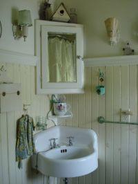 farmhouse bathroom - Need a corner medicine cabinet for a ...