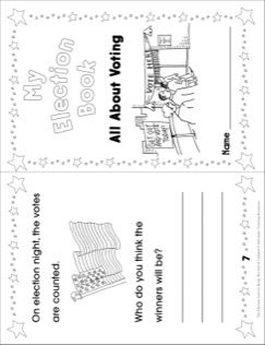 My Election Book (All About Voting): Election Activities