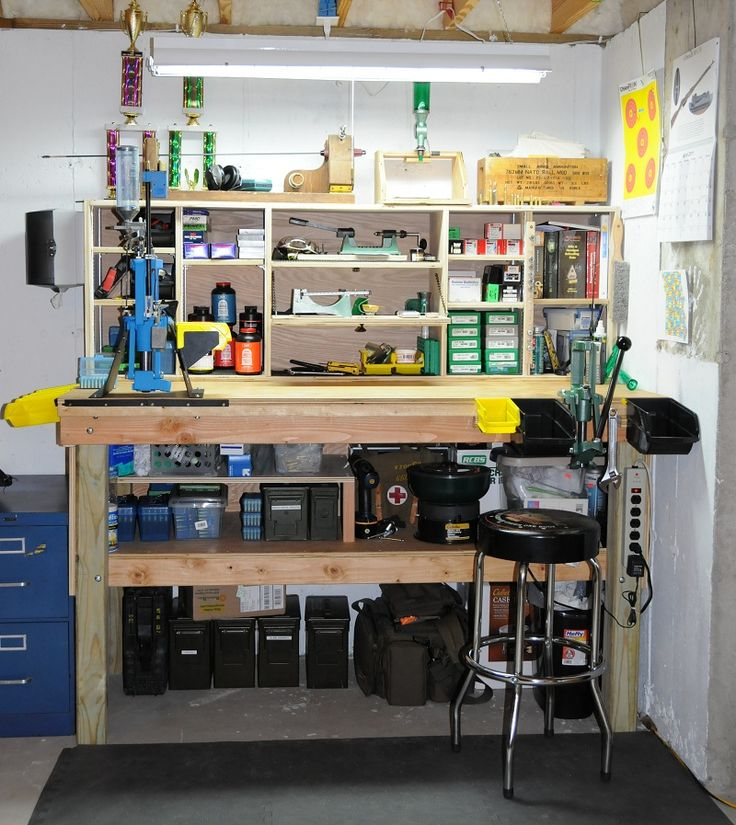 25+ best ideas about Reloading bench plans on Pinterest