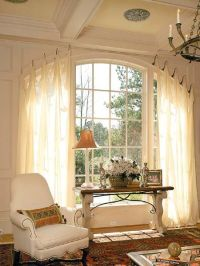 window coverings for arched windows
