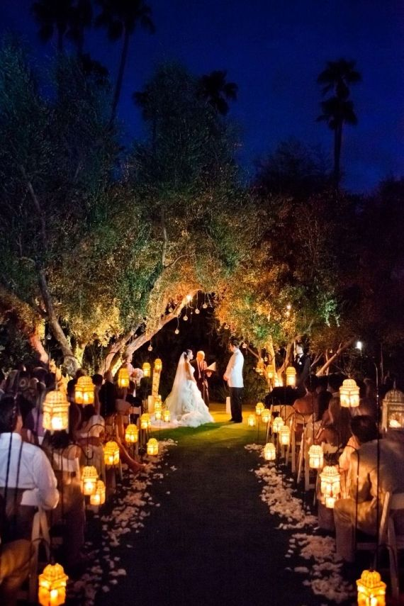 25 Best Ideas About Night Time Wedding On Pinterest Night