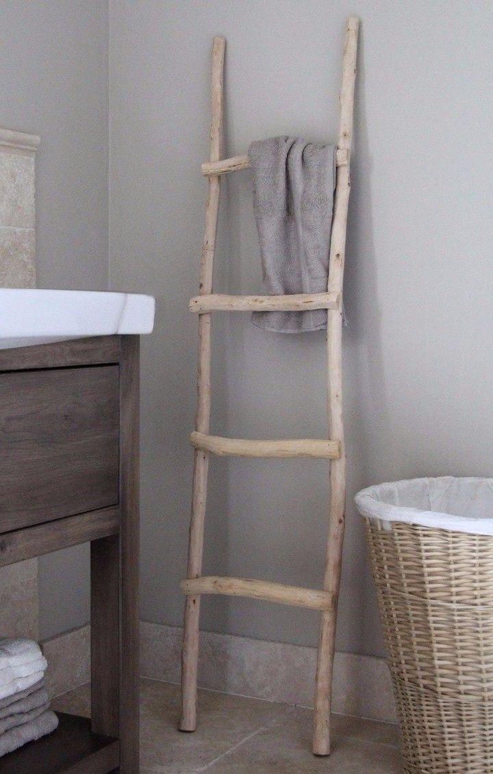 25 beste ideen over Houten Ladder op Pinterest  Houten