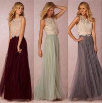 Best 20+ Two piece bridesmaid dresses ideas on Pinterest ...