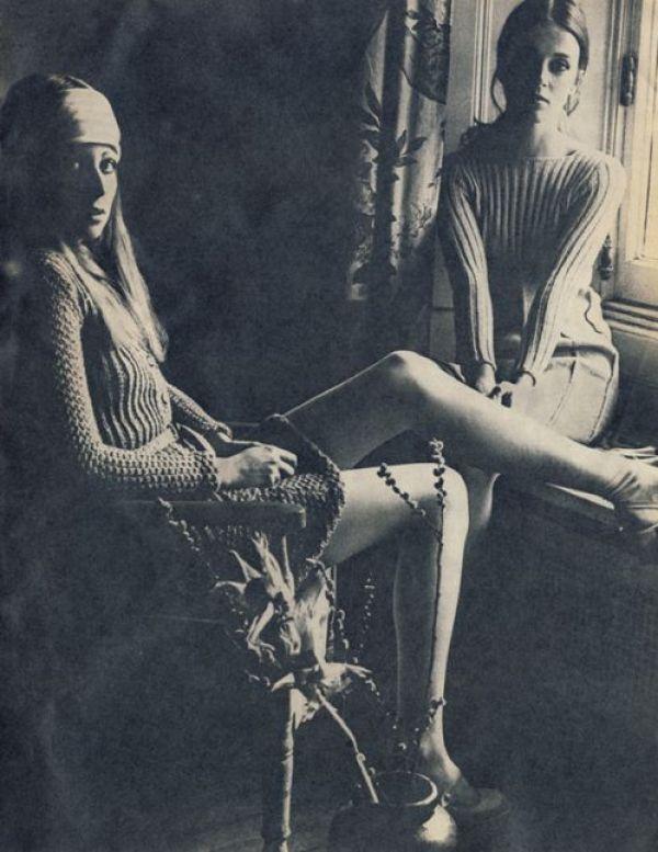 knitGrandeur: 70s Skinny Ribs