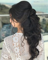25+ best ideas about Half up wedding hair on Pinterest