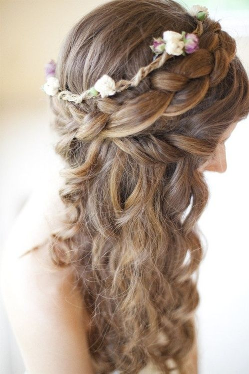 98 Best Images About Half Up Half Down Updos On Pinterest