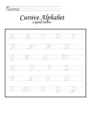 25+ best ideas about Capital Letters In Cursive on
