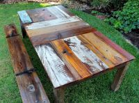 25+ best ideas about Rustic Dining Tables on Pinterest ...