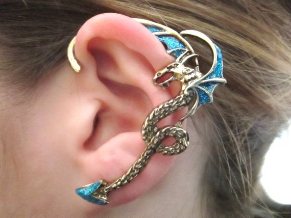 25+ Best Ideas about Dragon Ear Cuffs on Pinterest