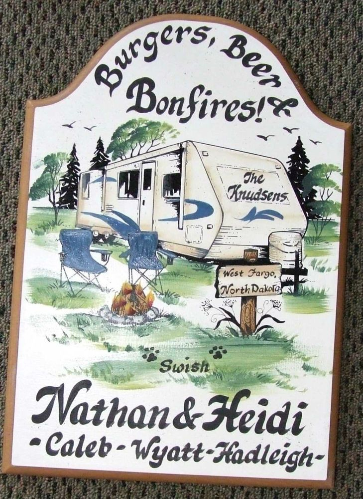 17 Best Images About Camping Signs On Pinterest Wedding