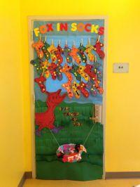 Fox In Socks Door Decor   Education Station   Pinterest ...