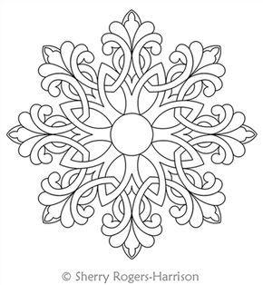25+ best ideas about Snowflake printables on Pinterest
