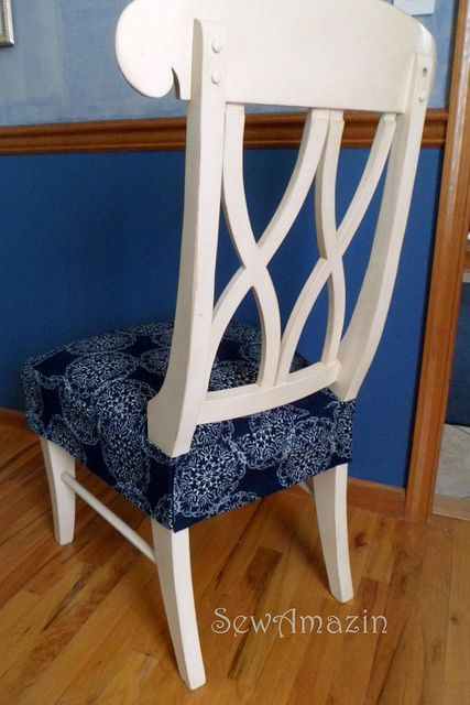 17 Best ideas about Chair Seat Covers on Pinterest