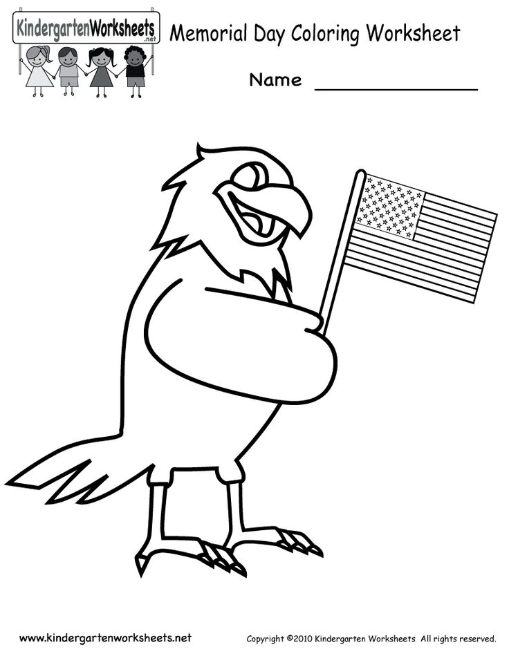 memorial day coloring pages pictures