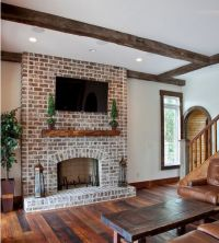 Best 25+ White wash fireplace ideas only on Pinterest ...