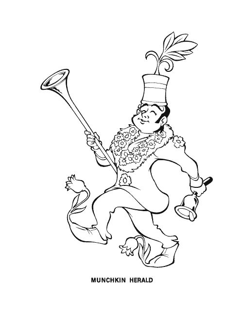 28 best images about Coloring Pages (The Wizard Of Oz) on