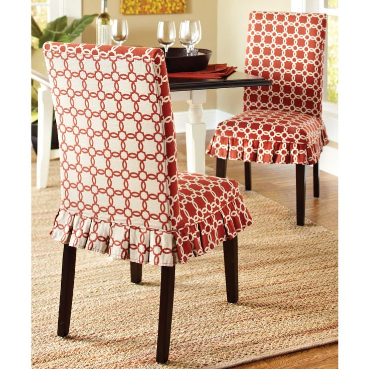 navy dining room chair covers retro table and chairs 17 best images about furnishings: slip cover magic on pinterest | slipcovers, ottoman ...