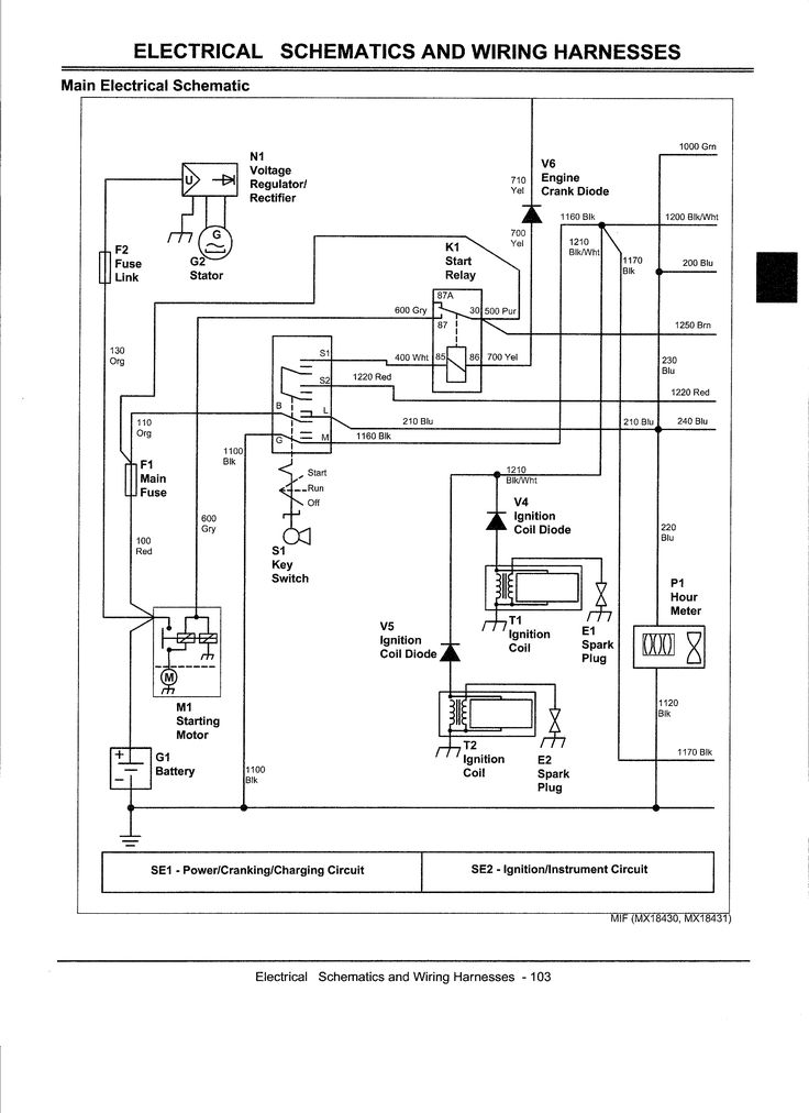 John Deere Gator Wiring Harness Diagram Electrical Diagram For John Deere Z445 Bing Images