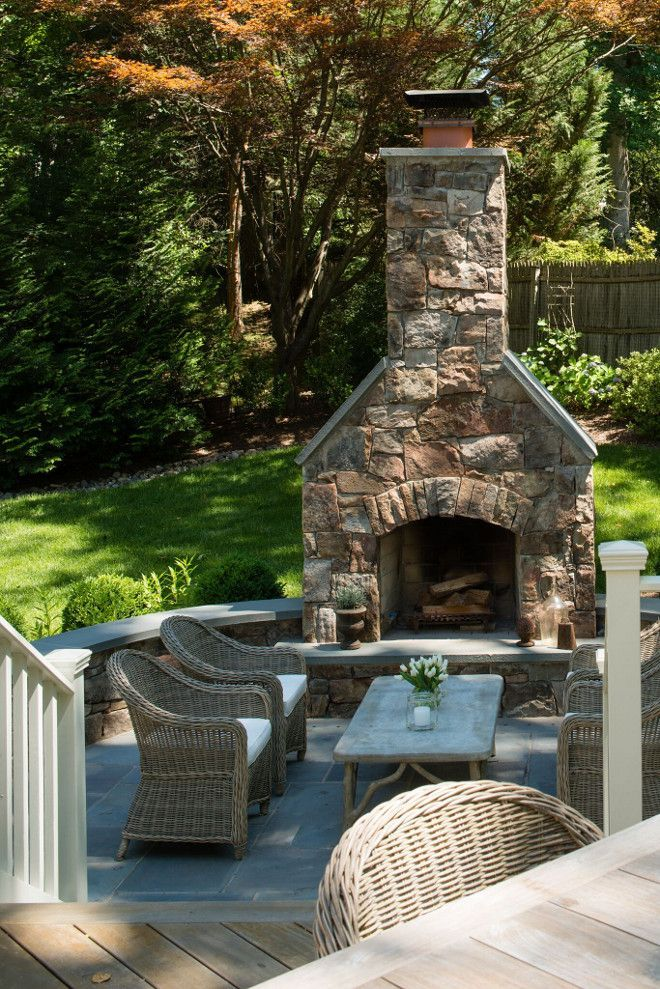 620 best Outdoor fireplace pictures images on Pinterest