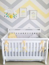 25+ best ideas about Gray yellow nursery on Pinterest