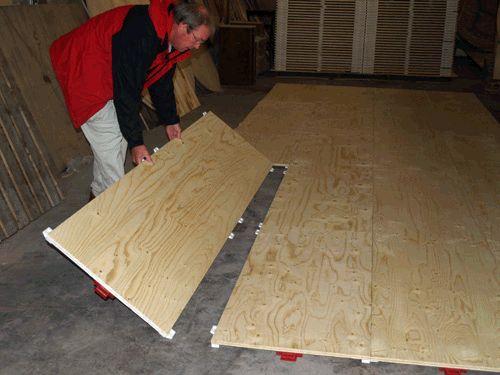Temporary Patio Flooring Ideas
