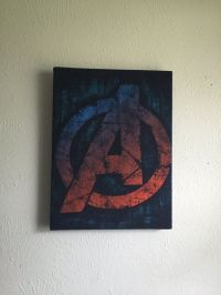 Avengers comic book decor super hero wall art by ...